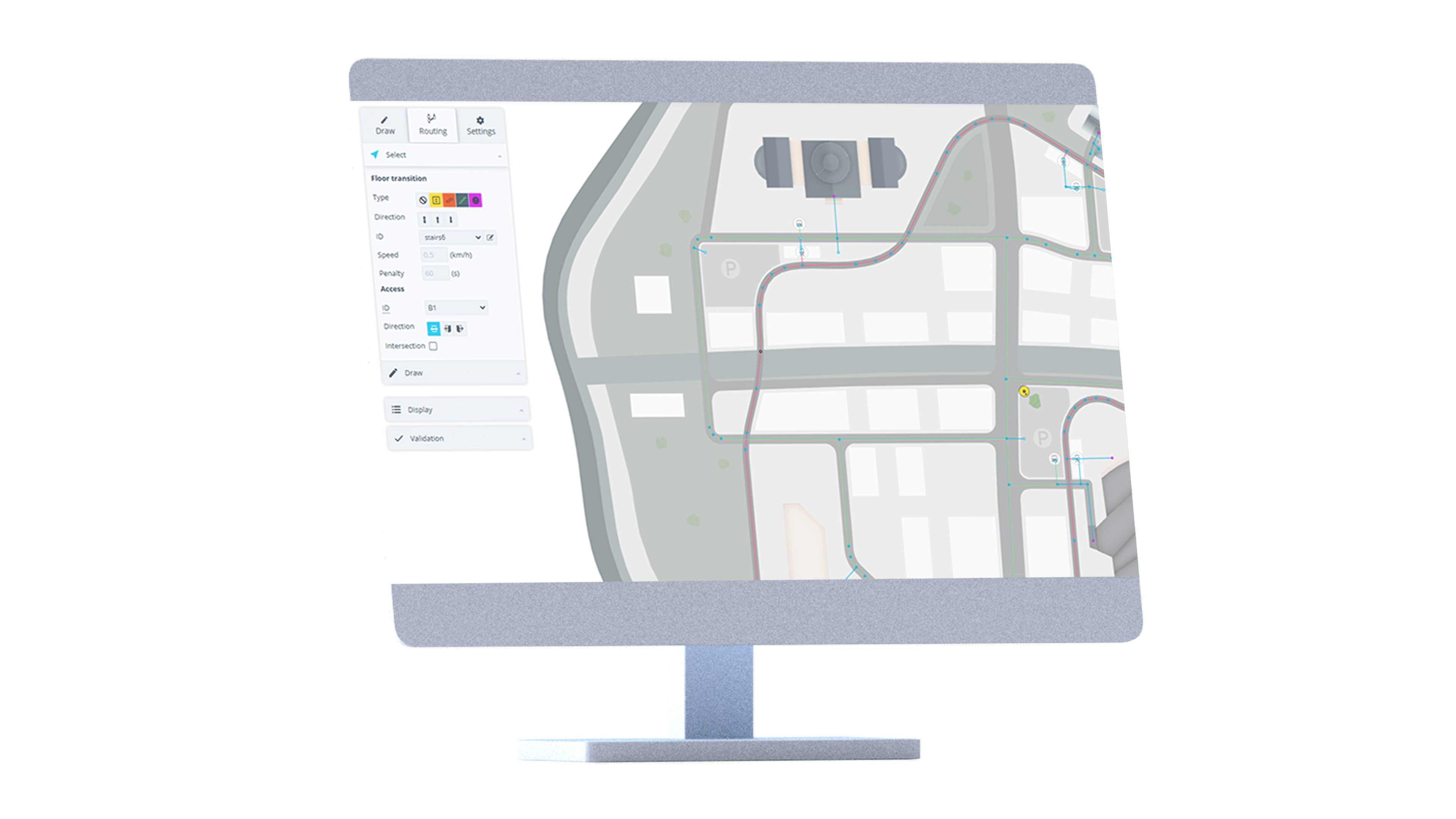 manage and edit your indoor maps