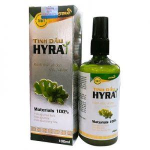 1.Tinh dầu mọc tóc Hyra - tinh dầu mọc tóc tốt nhất