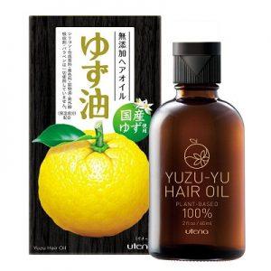 3.Dầu dưỡng tóc Utena Yuzu hair oil
