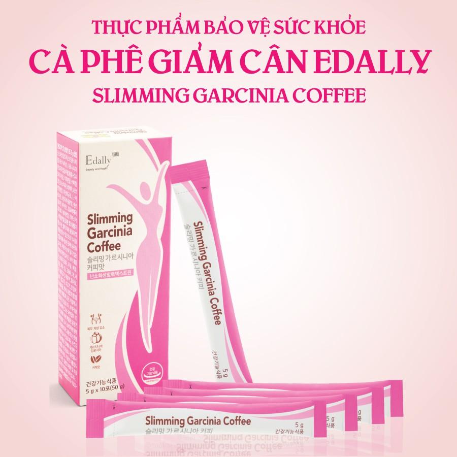Cafe giảm cân Edally Slimming Garcinia Coffee | Lazada.vn