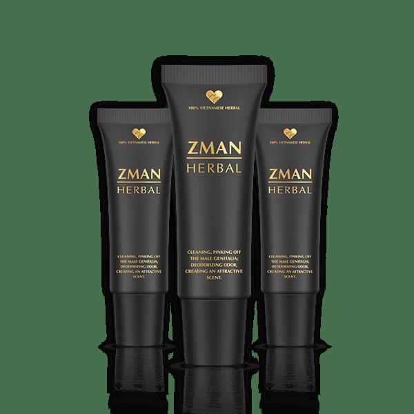 Gel Zman Herbal có tác dụng gì, giá bao nhiêu, tốt không?