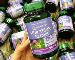 4.Thuốc bổ gan của Mỹ Milk Thistle Extract 1000mg