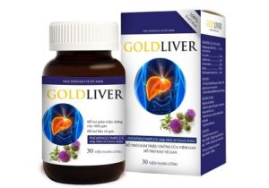 10.Giải độc gan hiệu quả với GoldLiver