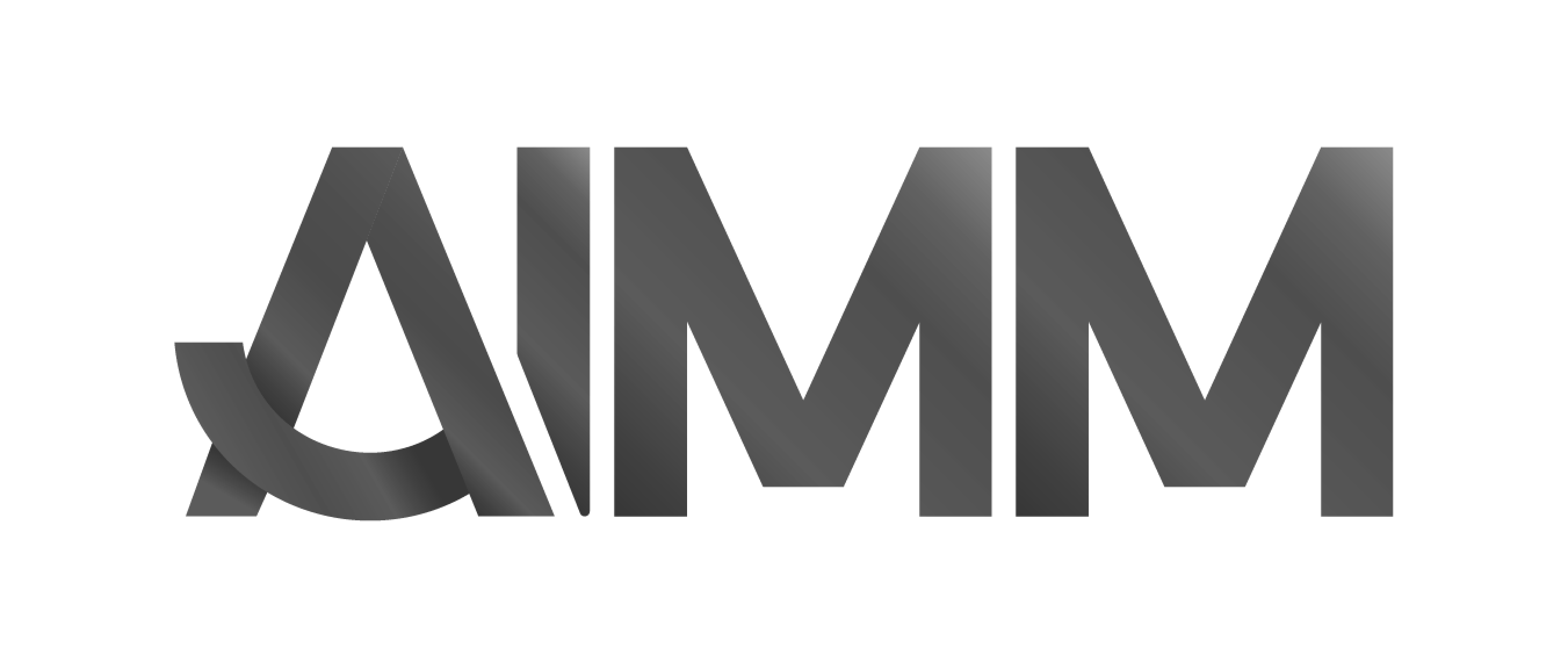 AIMM logo in grey
