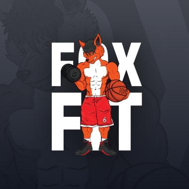 Fox-Fit - Projekt Nadruku na T-shirt