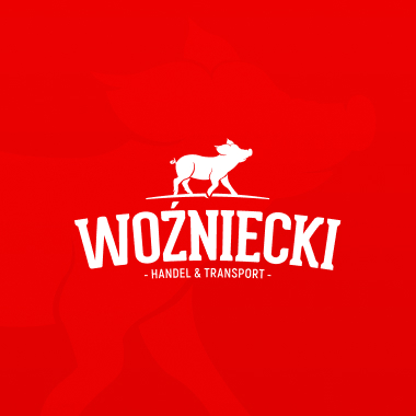 Projekt logo Woźniecki Handel i Transport