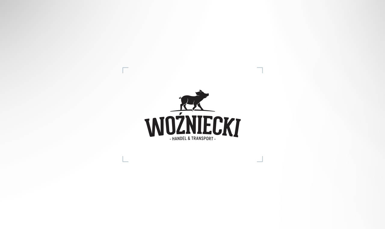 Projekt logo firmy Woźniecki Handel i Transport