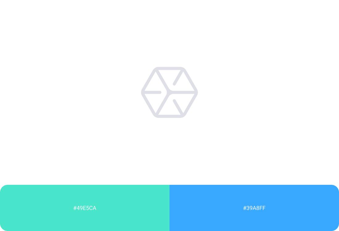 Sygnet logotypu Bax Network oraz kolory brandowe