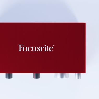 Model 3D Focusrite Scarlett 2i2