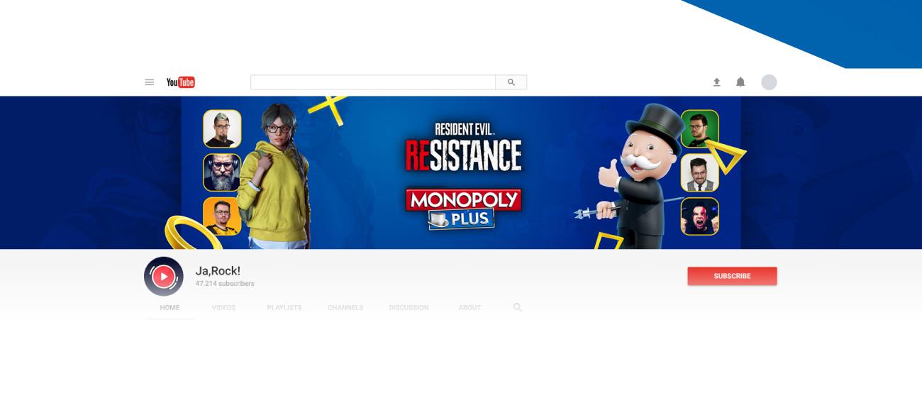 Cover photo PlayStation Plus Ja,Rock Monopoly Plus Resident Evil Resistance