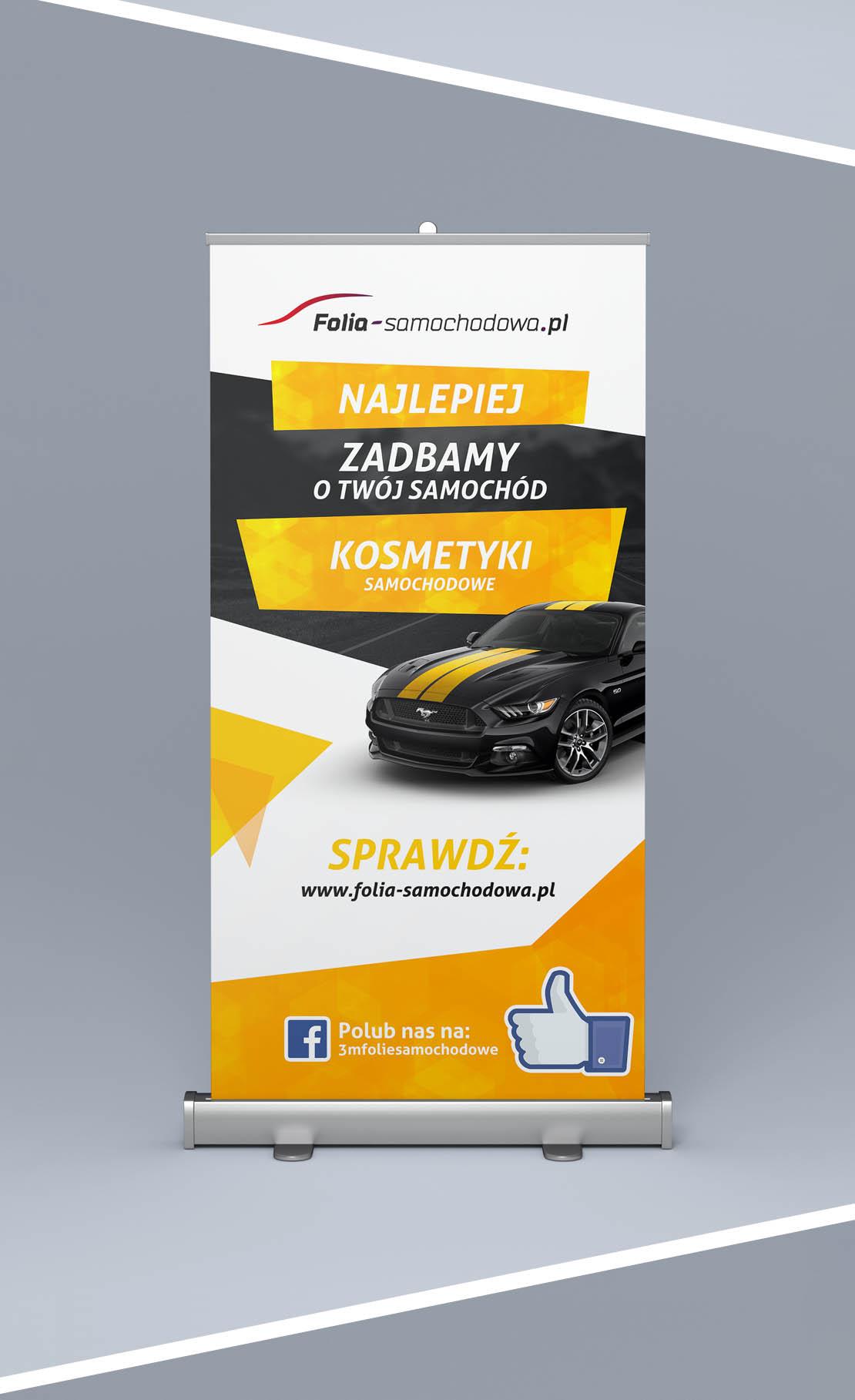 Projekt Roll Up 3M Folia-samochodowa.pl wersja 2
