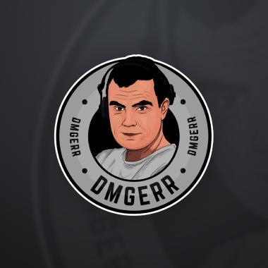 Projektowanie logo dla Dmgerr twitch