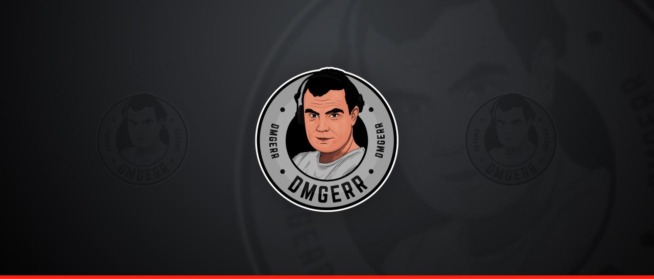 Projekt logo dla Dmgerr twitch