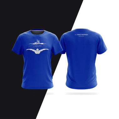 Projekt koszulki MKSPałac Młodzieży Basen Pływanie Katowice