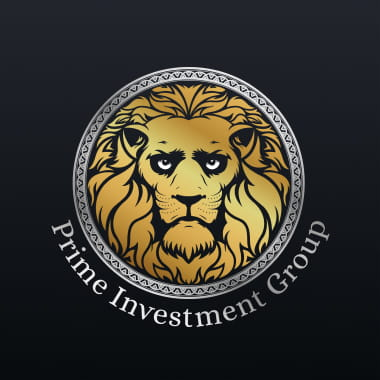 Projekt logo projekt kubka materiały reklamowe Prime Investment Group
