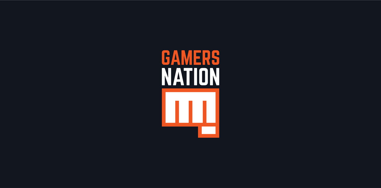 Grafika tylnego Projektu nadruku na koszulkę Gamers Nation GrabaGra Paweł Grabowski