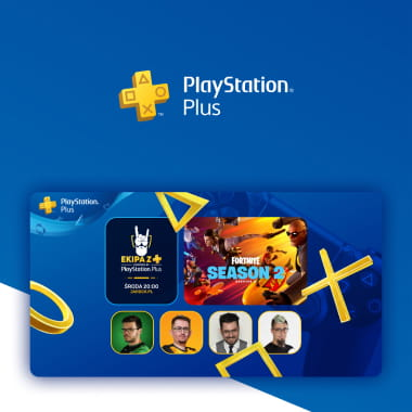 Grafiki Promocyjne PlayStation Plus