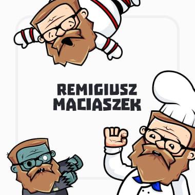 """Remigiusz """" Rock"""" Maciaszek - Ilustracje"""