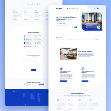 Landing Page Officenter