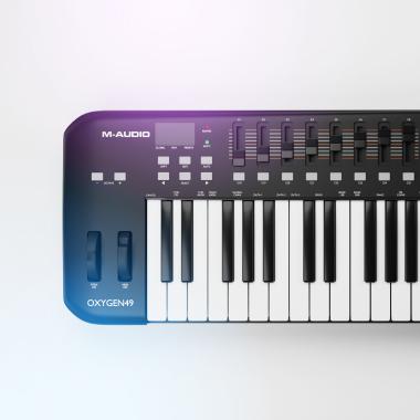 Model 3D Keyboard M-Audio Oxygen49