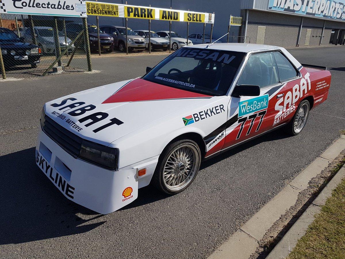 Old Nissan Skyline racing car