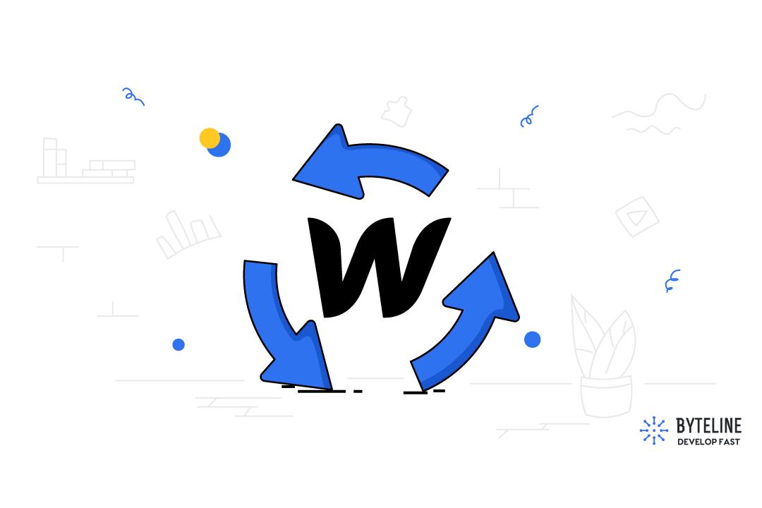 Update Webflow CMS Items using Byteline