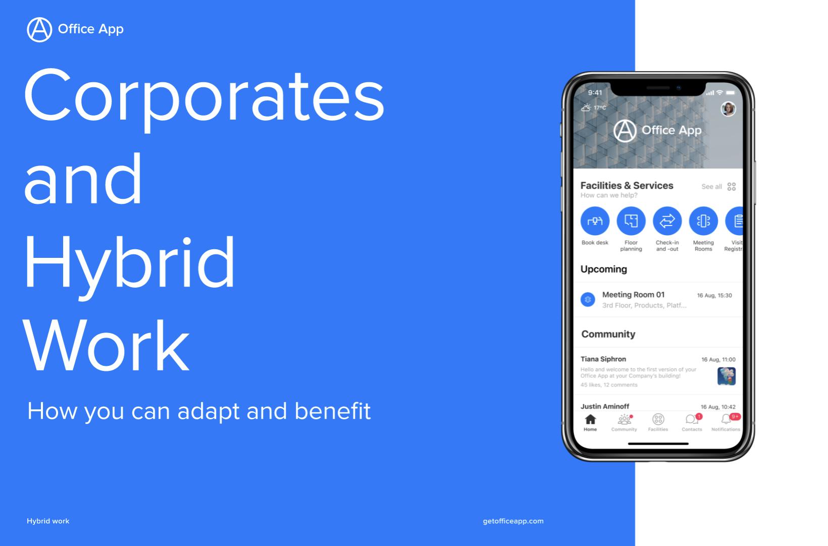 Free corporate hybrid work brochure