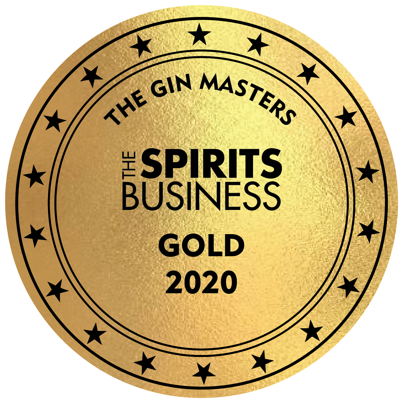 An Gold award won by the Stillery amsterdam which reads The Spirit Business Gold 2020