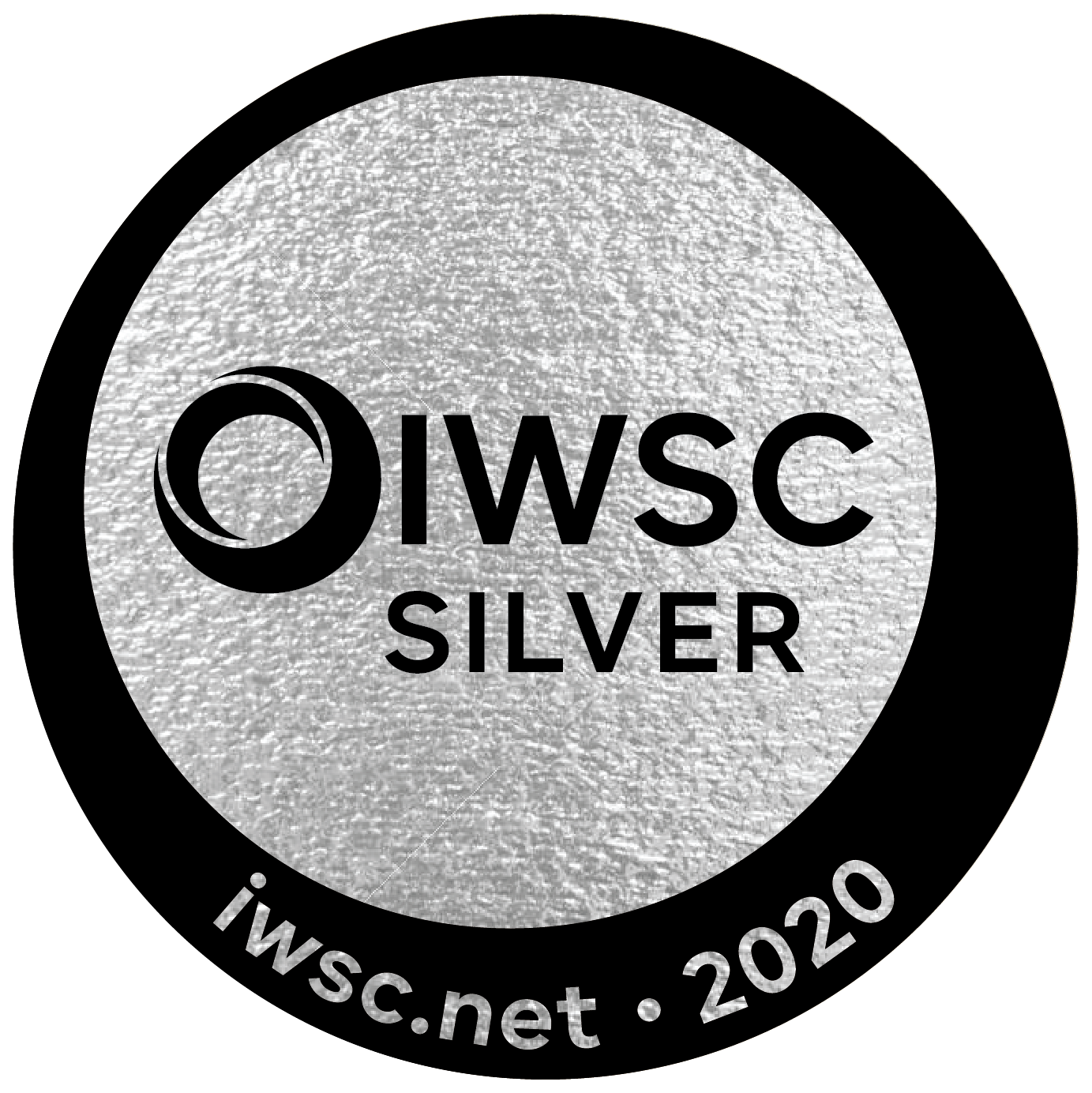 An Silver award won by the Stillery amsterdam which reads IWSC Silver