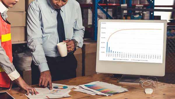 Curva ABC aplicada à logística estratégica