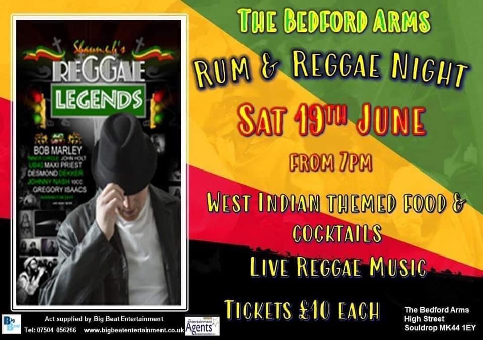 Rum + Reggae Night