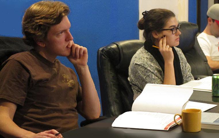 Austin LSAT Prep students attending class