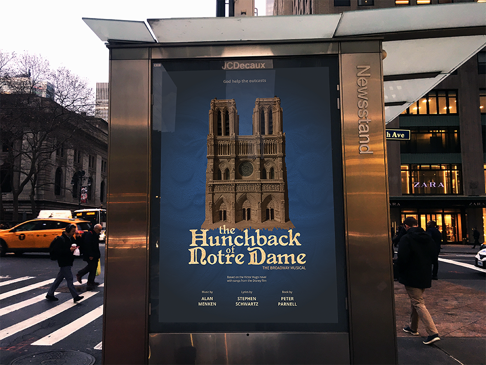 Promotional Advertisement on 42nd St, NYC