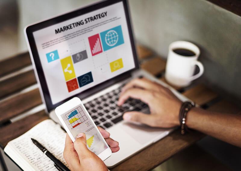 Categoría de marketing y ventas