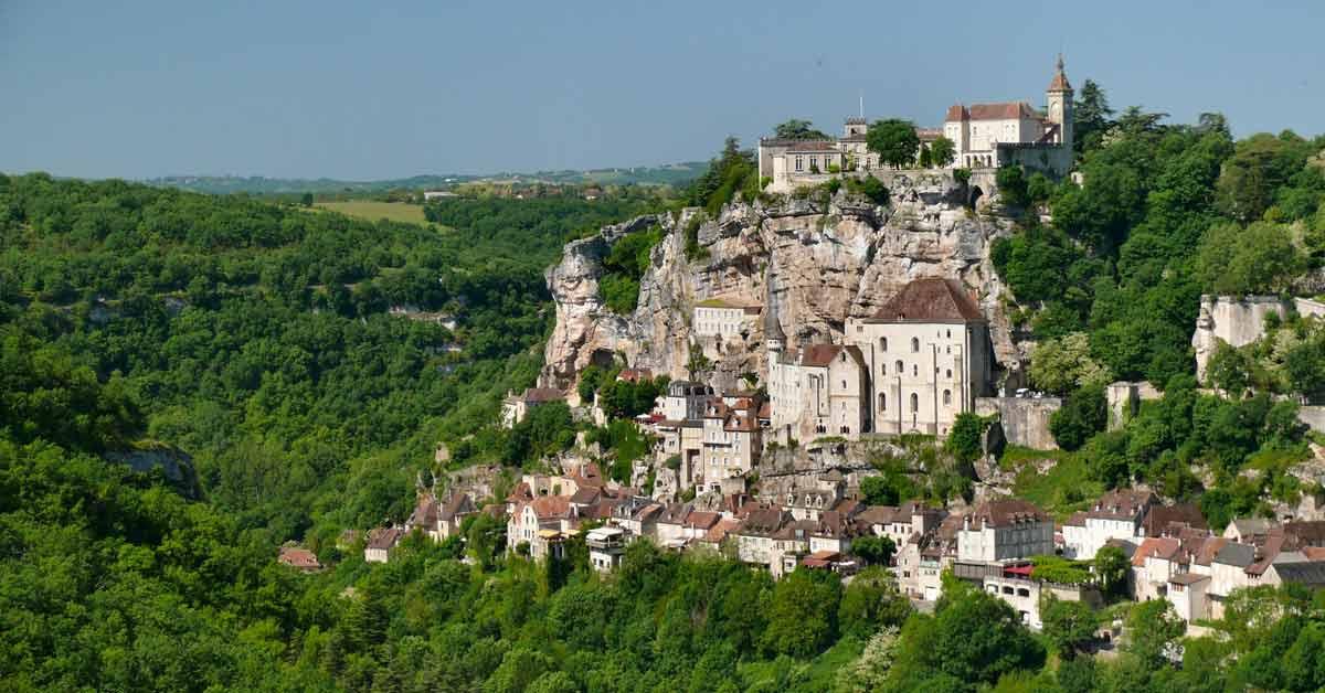 Rocamadour plus beau village de France dans le Lot