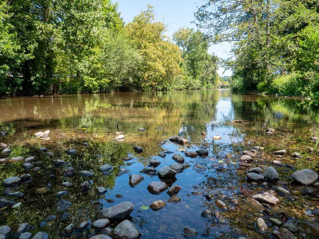 rivière du lot pour spot de pêche