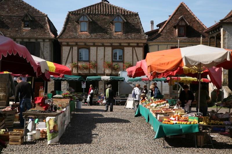 Marché Local à Bretenoux