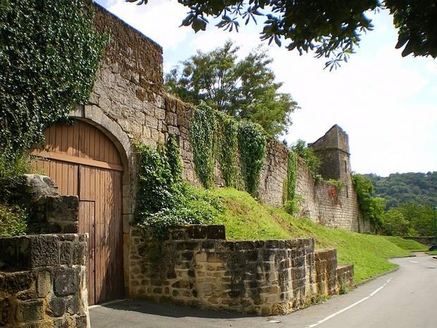 Entrée château de Figeac