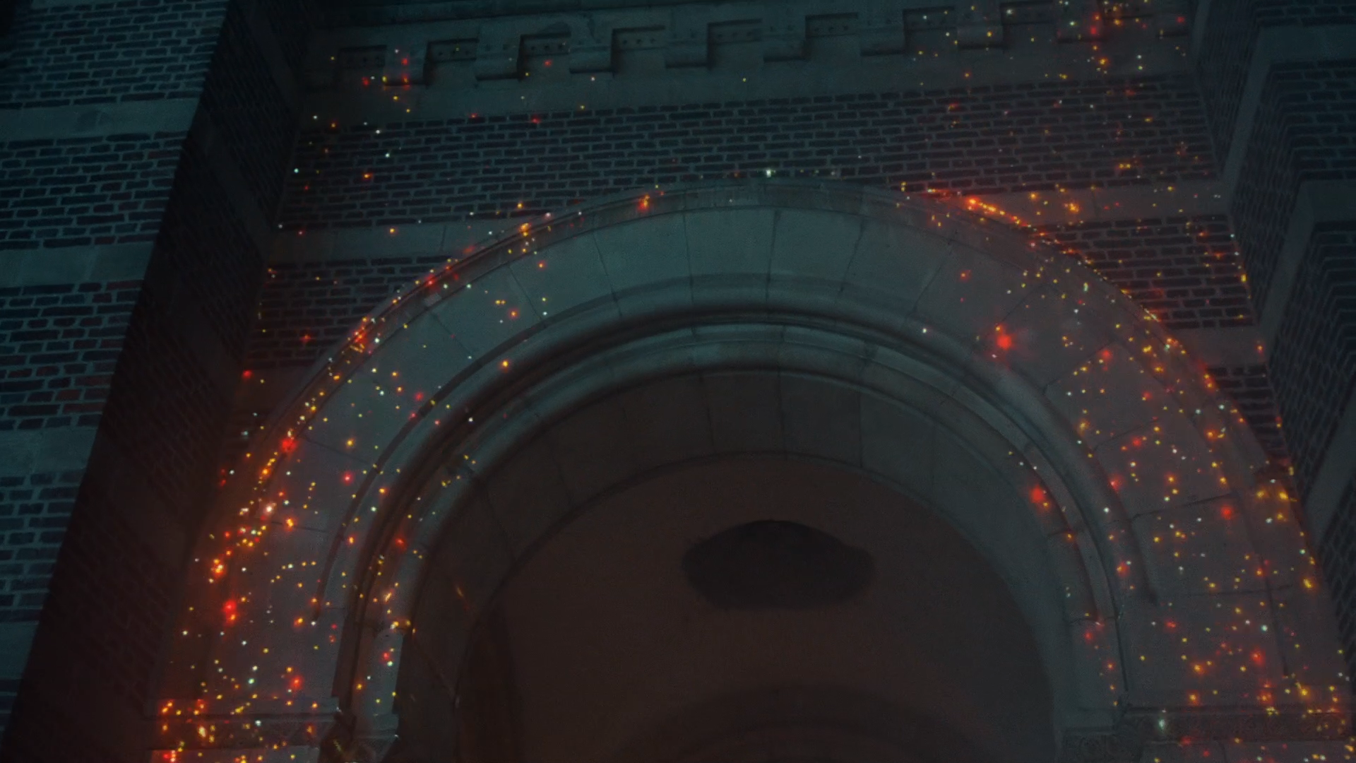 Videomapping promotievideo Kerst Roeselare - St. Amandskerk