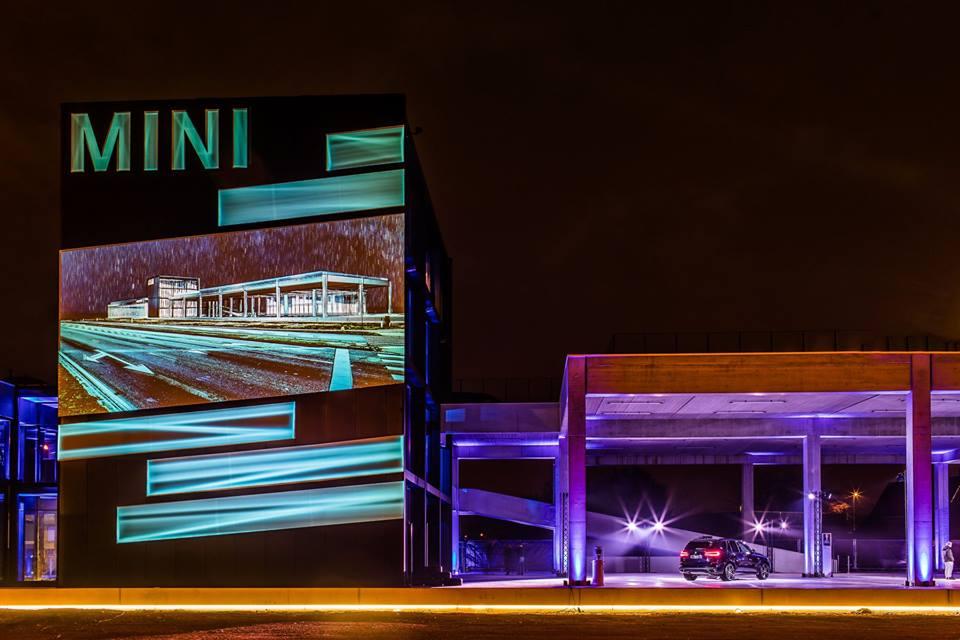 Videomapping opening BMW-MINI Dejonckheere