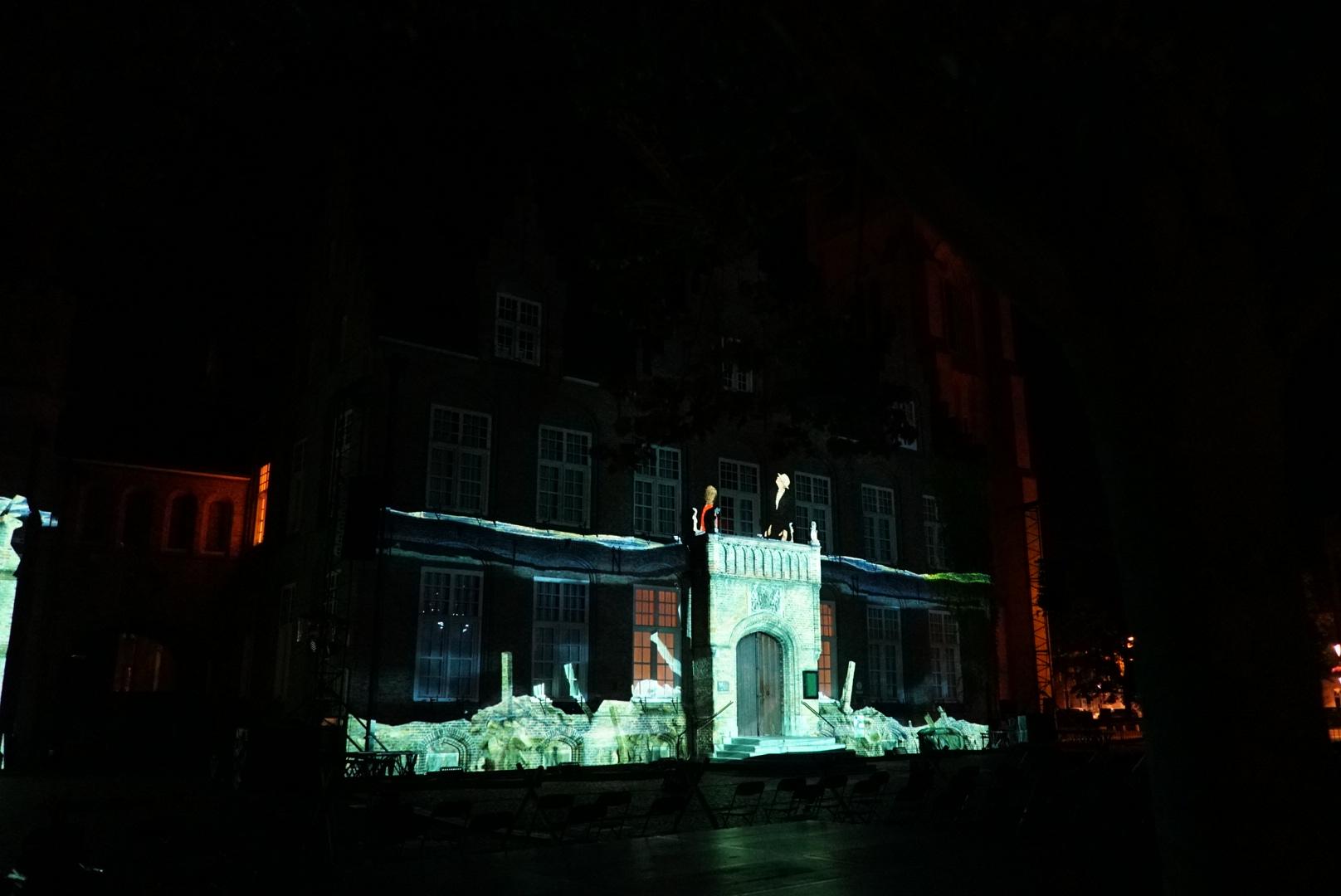 Videomapping - Onderwaterzetting Nieuwpoort