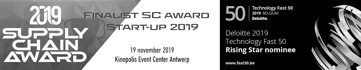 Award finalist SC award start-up 2019 and Deloitte award Rising Star nominee Technology Fast 50