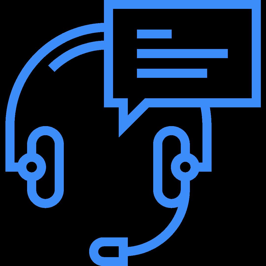Customer Service headset icon