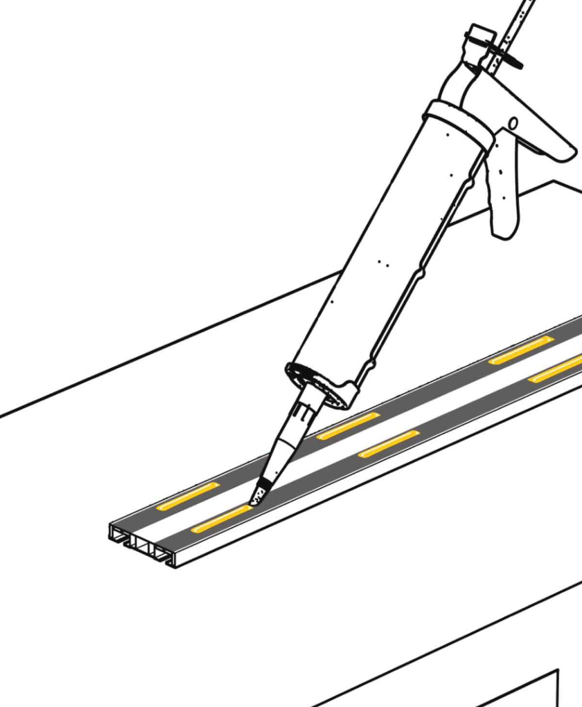 Slimflex korniş yapıştırıcısı 1