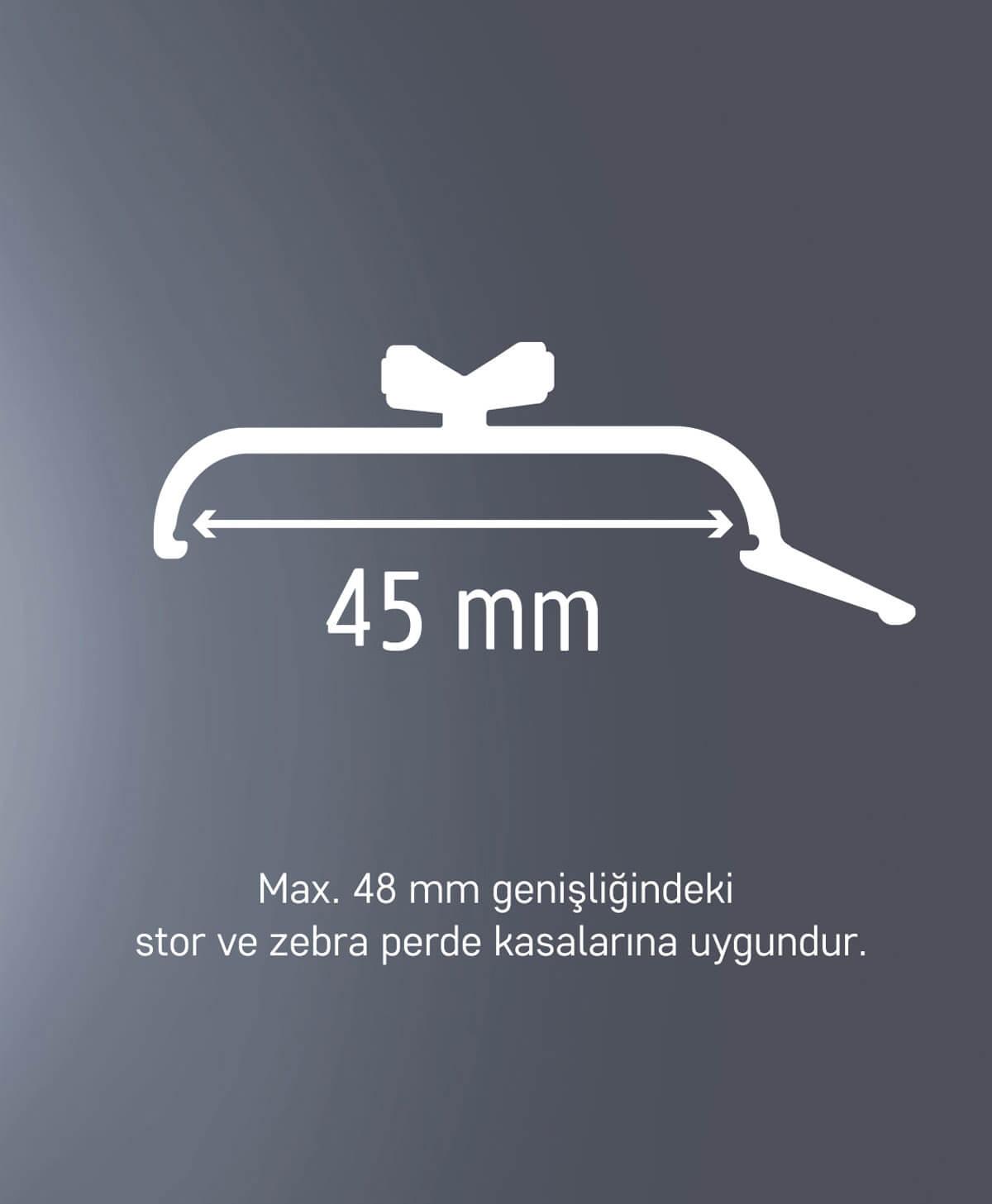 Slimflex korniş perde aparatı 1