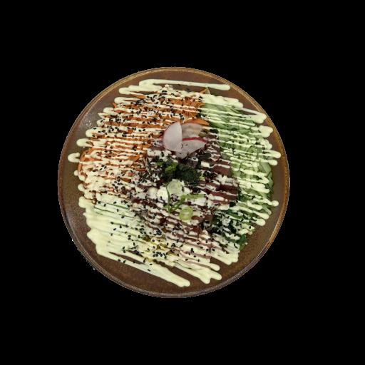 Een foto van een bord carpaccio, om de horeca aan te tonen die de bestelzuil kan faciliteren.
