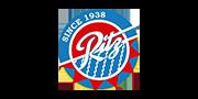 Dit is het logo van Ritz Rotterdam. Ritz is één van onze klanten, waarbij we de bestelkiosk gebruiken om hun gasten te laten bestellen