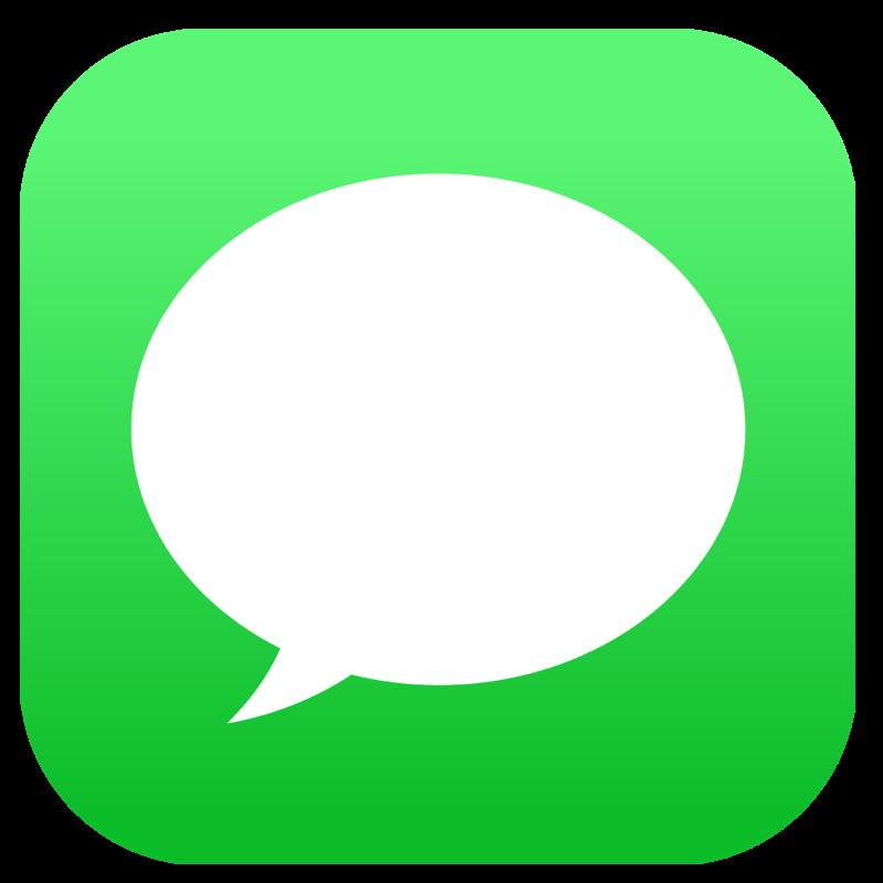 Apple message logo