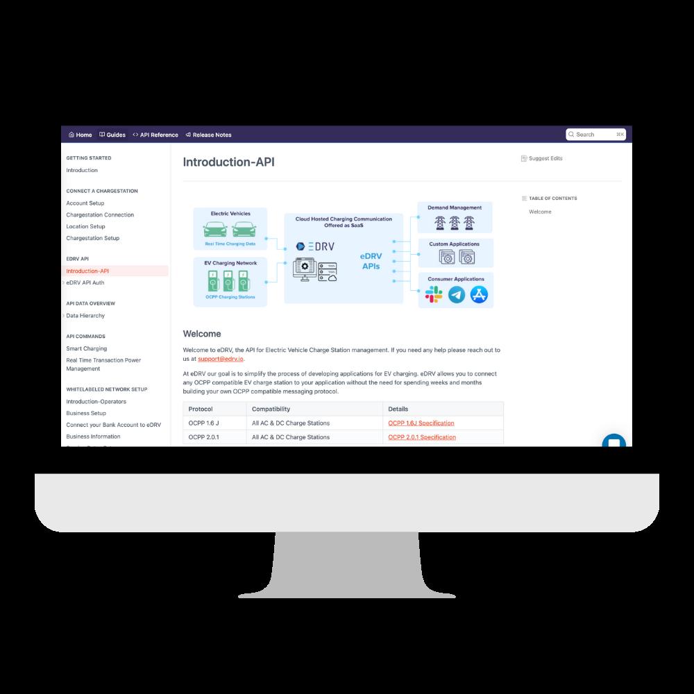 eDRV Documentation Screenshot