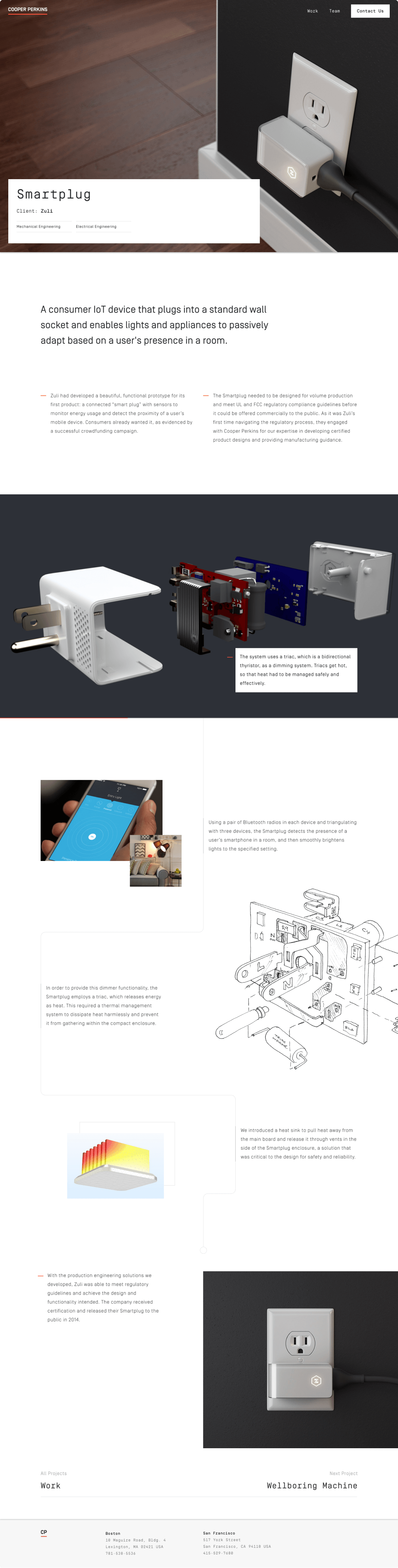 A case study explaining Cooper Perkins' work on a smartplug engineering project.